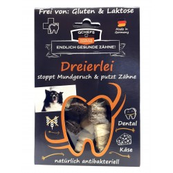 QCHEFS Dreierlei Käsesnacks