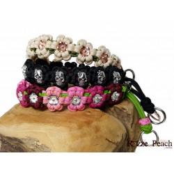 Halsband Flowers